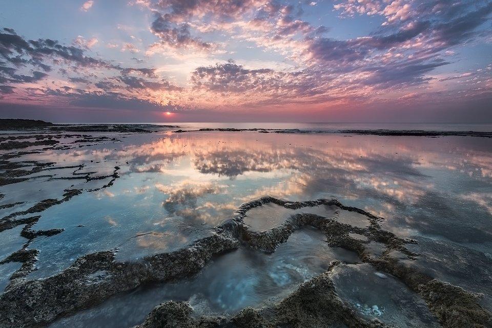 חוף הבונים - צילום: תומר רצאבי