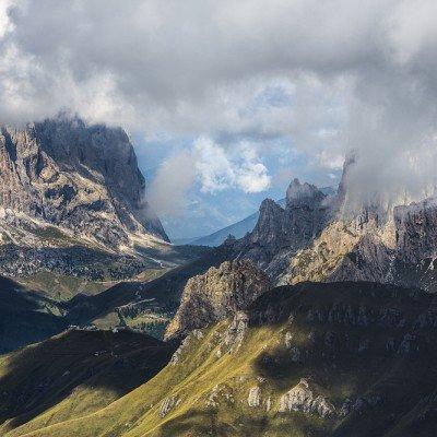 הרי הדולומיטים - צילום: תומר רצאבי