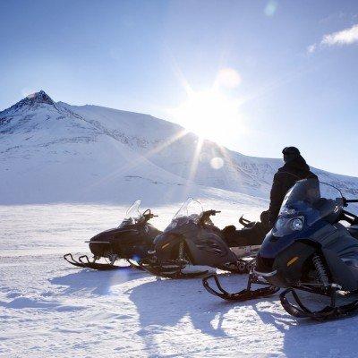אופנועי שלג בלפלנד