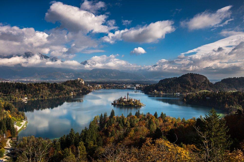 אגם בלד סלובניה - wild travel