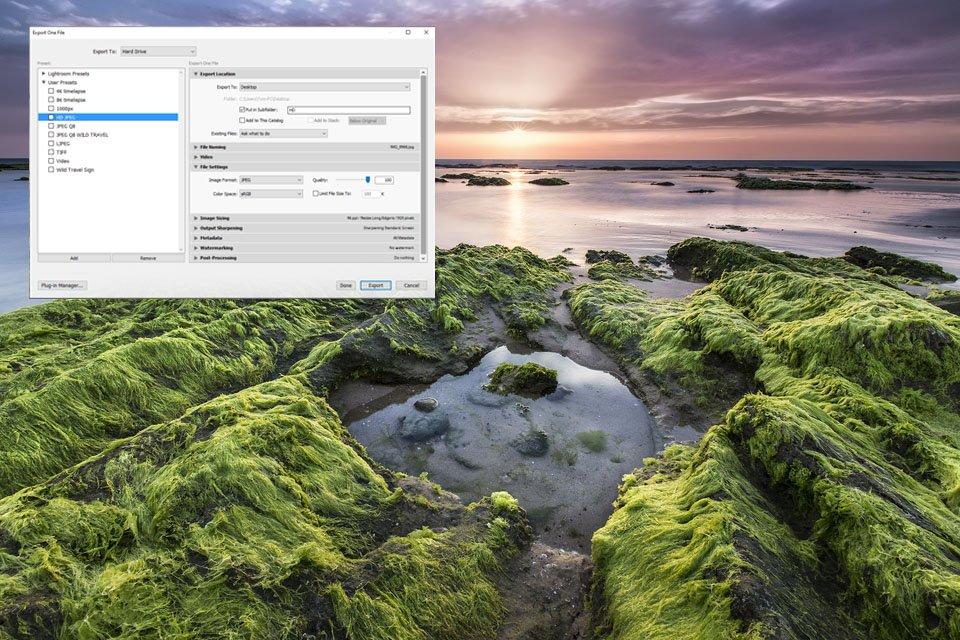 עריכת תמונות ב Lightroon - יצוא תמונות | Wild Travel