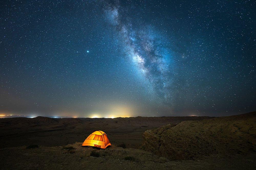 צילום נוף לילה כוכבים - Wild Travel