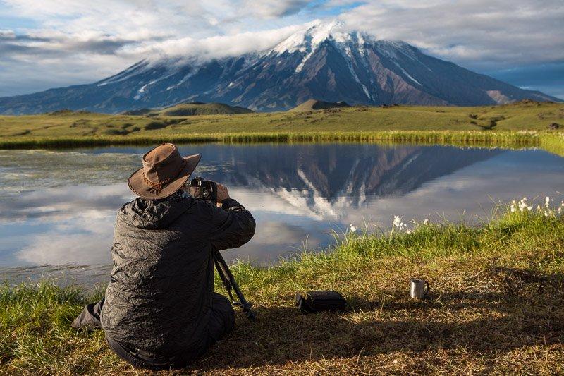 Wild Travel - מצלמים את הר הגעש טולבצ'יק בזריחה, קמצ'טקה