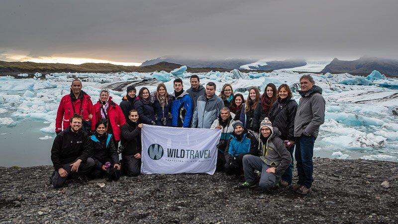 הקבוצה שלנו בטיול חורף באיסלנד - Wild Travel