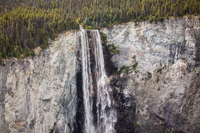מפלי הונלן, רכס הרי החוף של קולומביה הבריטית, קנדה - Wild Travel