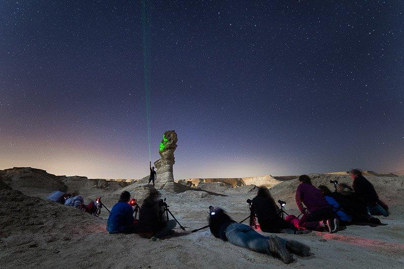 צילום כוכבים בחווארי מצדה - סדנת צילום נוף - Wild Travel