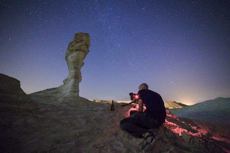 צילום כוכבים בחווארי מצדה - Wild Travel