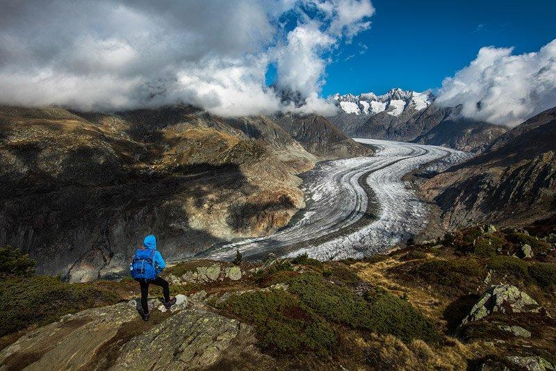 קרחון בהרי האלפים, שוויץ - Wild Travel