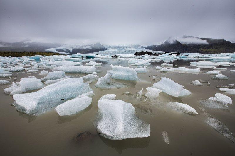לגונת הקרחונים הקטנה באיסלנד - Wild Travel