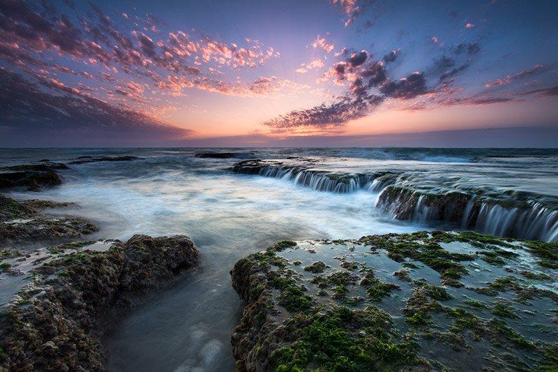צילום שקיעה בחוף פלמחים- Wild Travel