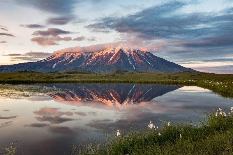 הר הגעש טולבצ'יק בזריחה, קמצ'טקה - Wild Travel