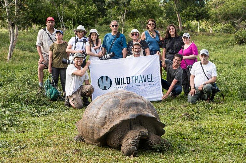 הקבוצה שלנו באי סנטה קרוז, איי גלפגוס - Wild Travel