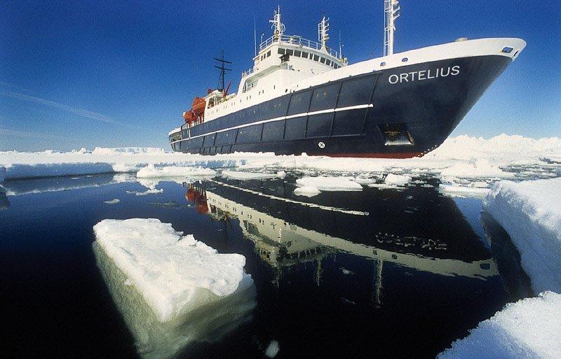 האורטליוס בהפלגה בשפיצברגן ליד הקוטב הצפוני - Wild Travel