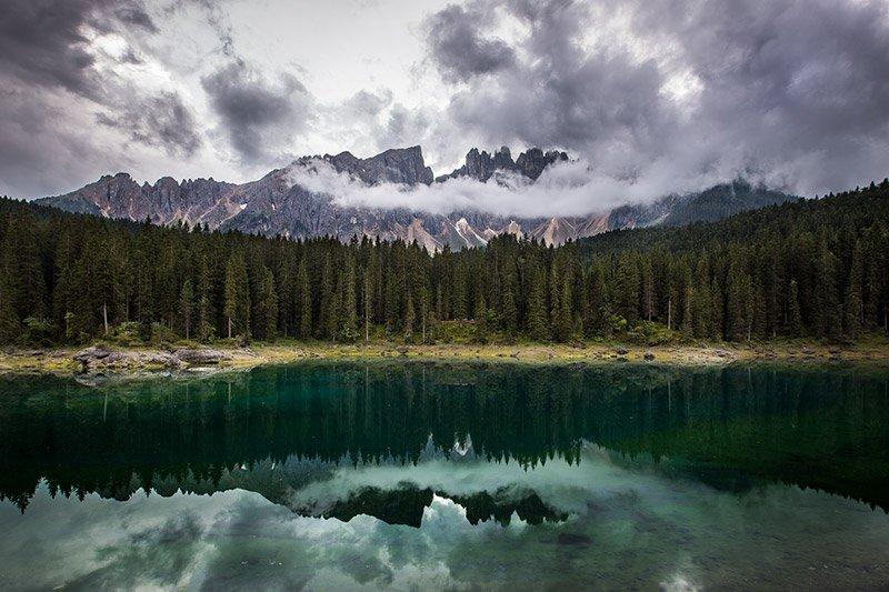 אגם קרצה, דולומיטים איטליה - Wild Travel