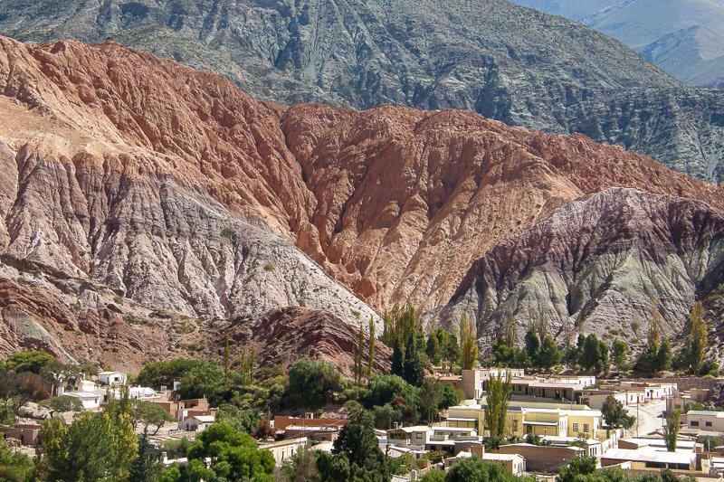 הר שבעת הצבעים בפורממרקה, ארגנטינה - Wild Travel