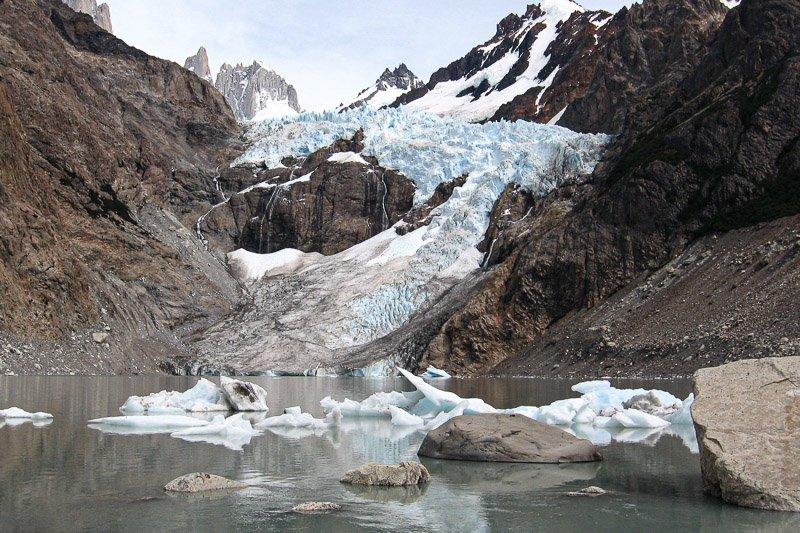 קרחון בשמורת הפיץ רוי, פטגוניה - Wild Travel