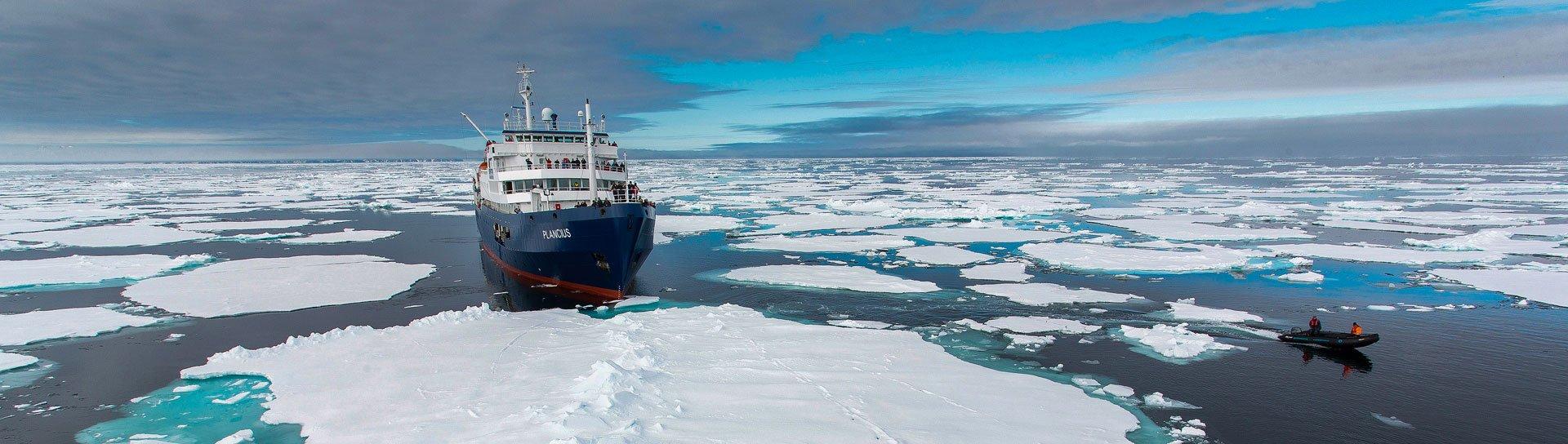 M/V Plancius - ספינת הפלגה לשפיצברגן ואנטארקטיקה Wild Travel
