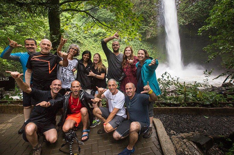 הקבוצה שלנו במהלך טיול בקוסטה ריקה- Wild Travel