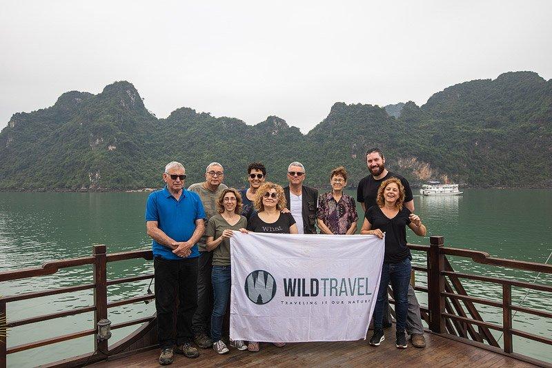 הקבוצה שלנו במהלך טיול לויאטנם - Wild Travel