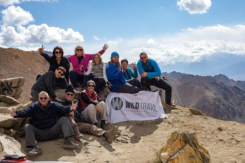 הקבוצה שלנו במהלך טיול בצפון הודו - Wild Travel