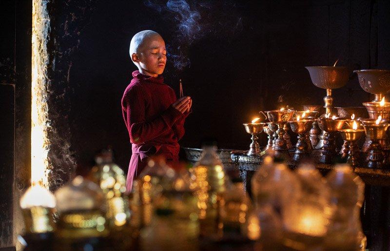 נזיר בלדאק צפון הודו - Wild Travel