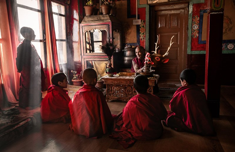 נזירים בלדאק צפון הודו - Wild Travel