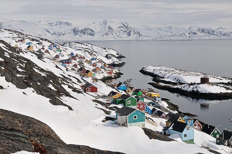 כפר אינואיטי בתחילת החורף, גרינלנד - Wild Travel