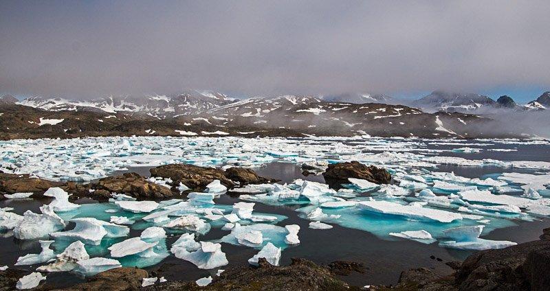פיורד מלא בקרחונים, גרינלנד - Wild Travel