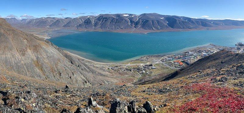 הנוף מעל לכפר Evgekinot  שבמחוז צ'וקוטקה - Wild Travel