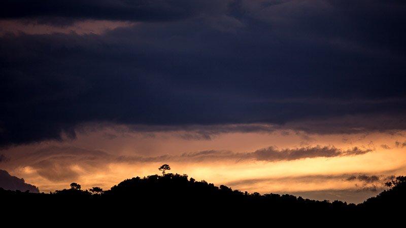 שקיעה במסאי מארה, קניה - Wild Travel