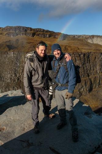 תומר ויואל המדריכים בקניון יוקולסה בצפון איסלנד - Wild Travel