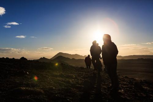 המטיילים שלנו באזור מיווטן בצפון איסלנד - Wild Travel