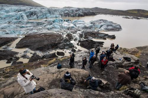 המטיילים שלנו בקרחון החזירים סווינפליוקול, איסלנד - Wild Travel
