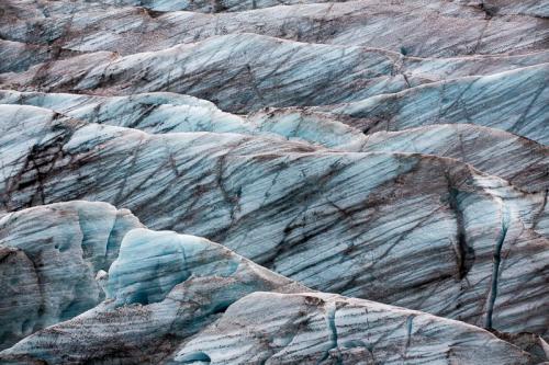 טקסטוקה של קרח, קרחון החזירים, דרום איסלנד - Wild Travel