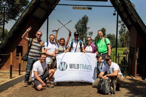 שער מצ'אמה בתחילת הטיפוס - קילימנג'רו, טנזניה - Wild Travel