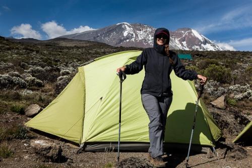 מחנה האוהלים שירה, דרך מצ'אמה - קילימנג'רו, טנזניה - Wild Travel