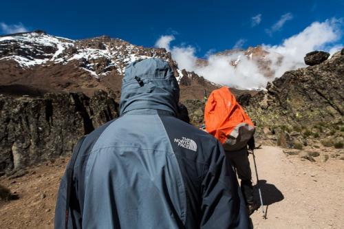 עולים ממחנה שירה למגדל הלאבה, דרך מצ'אמה - קילימנג'רו, טנזניה - Wild Travel