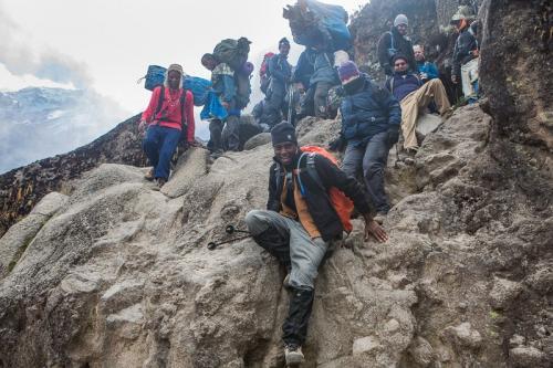קיר בראפו, דרך מצ'אמה - קילימנג'רו, טנזניה - Wild Travel