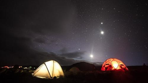 מחנה האוהלים, דרך מצ'אמה - קילימנג'רו, טנזניה - Wild Travel