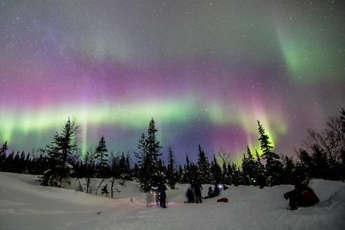 זוהר צפוני בצפון לפלנד - Wild Travel