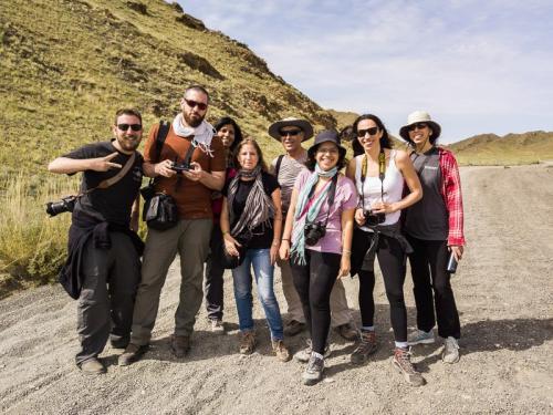 הקבוצה שלנו במדבר הגובי בדרום מונגוליה - Wild Travel