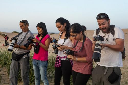 המטיילים מצלמים במדבר הגובי, מונגוליה - Wild Travel