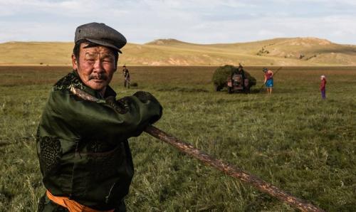 נווד מונגולי בצפון מזרח מונגוליה - Wild Travel