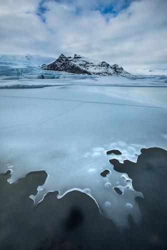 לגונת הקרחונים בחורף, החוף הדרומי, איסלנד - Wild Travel