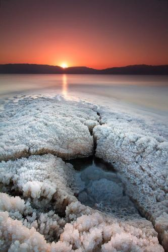צילום זריחה בים המלח - Wild Travel