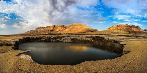 צילום זריחה - בולען בים המלח - Wild Travel