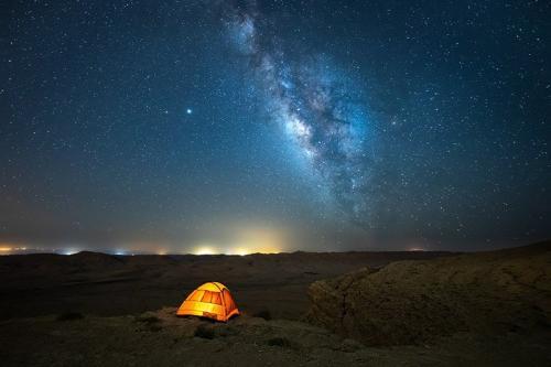 צילום שבילי כוכבים ושביל החלב במצפה רמון - Wild Travel