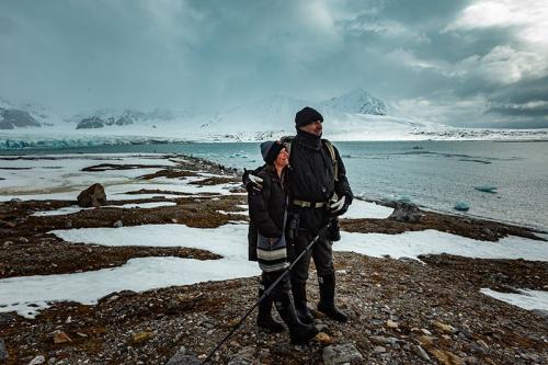 המטיילים שלנו בהליכה רגלית, שפיצברגן - Wild Travel