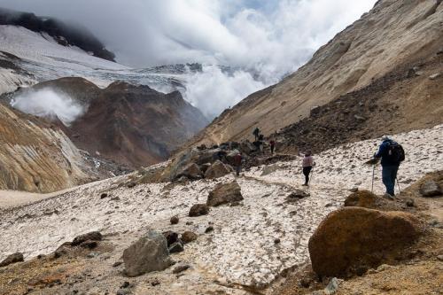 טיפוס על הר הגעש מוטנובסקי בדרום קמצ'טקה - Wild Travel