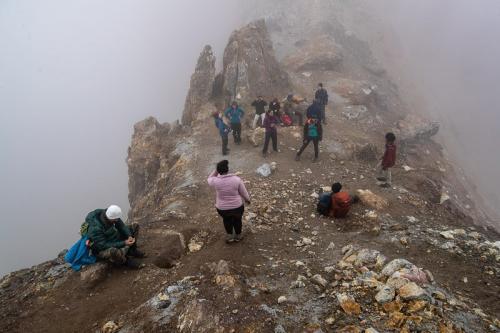 הקבוצה שלנו על הר הגעש מוטנובסקי בדרום קמצ'טקה - Wild Travel